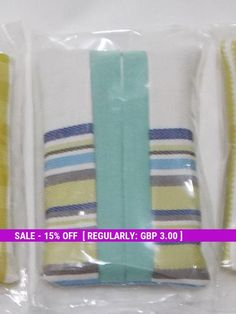 Pocket Tissue, Pouch Cover, Fabric Tissue Holder, Purse Accessory, stripe blue's fabric For Her, travel tissue case, tissue holders,