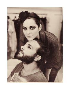 Marion Cotillard and Maxim Nucci (from Yodelice), Vanity Fair (Sept. 2010)
