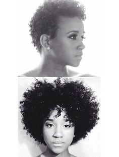 1 year hair growth after big chop Vida Natural, Be Natural, Natural Hair Tips, Natural Hair Growth, Natural Hair Journey, Natural Hair Styles, Going Natural, 1 Year Hair Growth, Afro Look