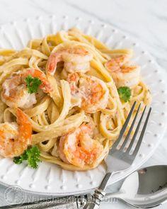 Shrimp Alfredo-4-3