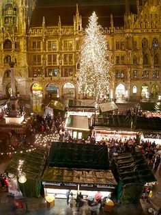Christmas market in Munich. this link has a good list of German Christmas markets. touring European Christmas markets is on my travel wishlist with the kids (someday).