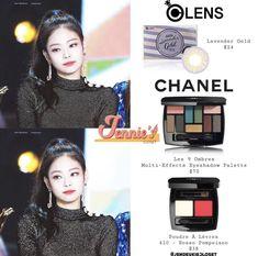 Blackpink Fashion, Kpop Fashion Outfits, Chanel Fashion, Stylish Outfits, Beauty Dupes, Beauty Makeup, Looks Teen, Makeup Storage Organization, Mode Kpop