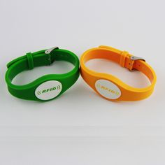 product ntag 216 chip nfc rfid silicone wristband