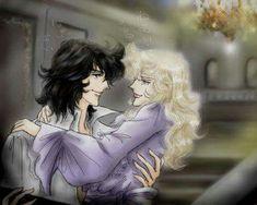 Oscar, Rose, Manga, Anime Love, Versailles, Lilac, Love, Pink, Roses