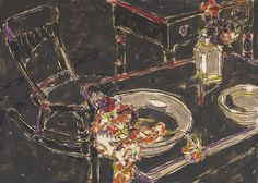 David B. Milne – The Rocking Chair, oil on canvas, x cm… Canadian Painters, Canadian Artists, David Milne, Painting Still Life, Rocking Chair, Painting & Drawing, Art Boards, Illustration Art, Illustrations