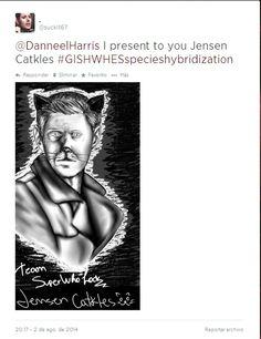 Item #124: Jensen Catkles Team superwholock