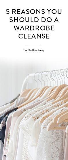 The closet detox, part 1