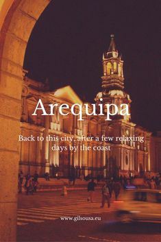 Back to #Arequipa from #Mollendo