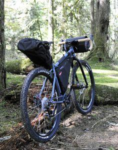 Kona Unit bikepacking adventure cycle blackburn outpost gevenalle gx hifi wheels