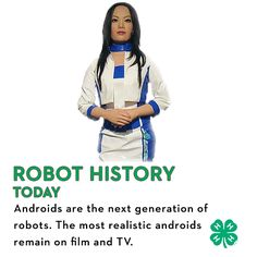 Androids are the next generation of robots. The most realistic androids remain on screen in our favorite sci-fi shows, but every year technology gets closer to making fiction reality.