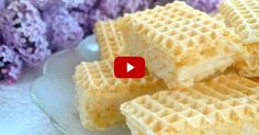 Rafaello na waflach Cake Cookies, Baked Goods, Sweet Recipes, Waffles, Food And Drink, Sweets, Baking, Breakfast, Film
