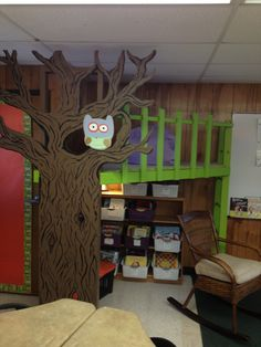 2nd Grade Reading Loft! Thanks Lance