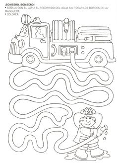 Mazes for kids printable preschool Preschool Writing, Preschool Learning, Kindergarten Worksheets, Worksheets For Kids, Learning Activities, Preschool Activities, Space Activities, Teaching, Community Helpers Worksheets