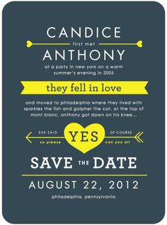 Tell your story - save the date