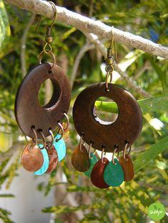 Wood Earrings  •  Make a pair of hoop earrings in under 20 minutes