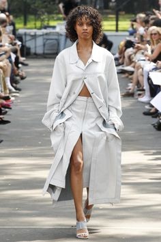 View the complete Eckhaus Latta Spring 2017 collection from New York Fashion Week.