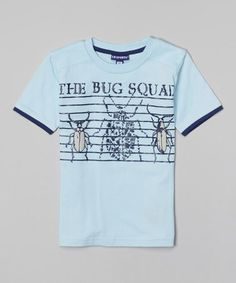 This Light Blue 'The Bug Squad' Tee - Toddler & Boys is perfect! #zulilyfinds