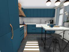 5 Mid-Year Kitchen Trends to Give Homes a Huge Lift Mini Kitchen, New Kitchen, Kitchen Ideas, Galley Kitchens, Luxury Kitchens, Best Interior Design, Interior Design Inspiration, Kitchen Layout, Kitchen Design
