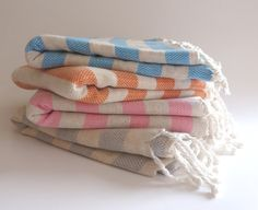 BATH Turkish Towel Natural Soft Cotton Peshtemal by TheAnatolian, $28.00