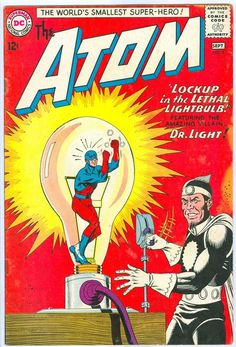 Atom The 8 DC Comics Silver Age 1963 Justice League Dr Light | eBay