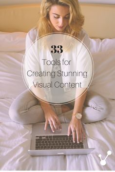 No need to hire a photographer or graphic designer, check out these 33 tools you can use to create unique visual content for free today.