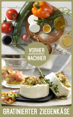 http://eatsmarter.de/rezepte/gratinierter-ziegenkaese Gratinierter Ziegenkäse schmeckt einfach köstlich!