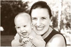 Beautiful mum & baby ~ 4 month old  Jonah ~ outdoor family portraits