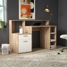 Buy Desks with Storage online! Free delivery over to most of the UK ✓ Great Selection ✓ Excellent customer service ✓ Find everything for a beautiful home Desk Storage, Storage Spaces, Computer Desks For Home, Gaming Desk, Pc Desk, Printer Shelf, Floating Desk, Secretary Desks, L Shaped Desk