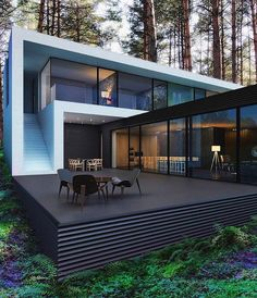 """Bozen, Italy M2 House designed by Monovolume Architecture + Design. @Tag someone you would live there with!  _______ For more amazing posts like this…"""