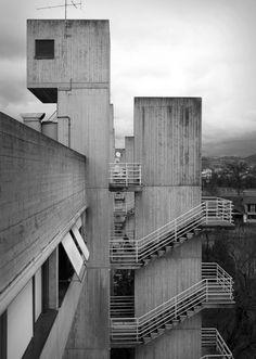 GIANCARLO DE CARLO, Villaggio Matteotti, Terni, 1968-1974, Imagen Matteo Brancali