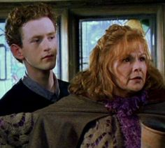 Percy and Molly Weasley