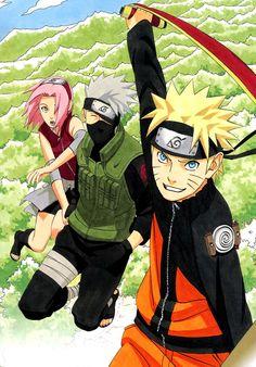 Naruto Kakashi Sakura