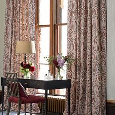 Zoffany - Luxury Fabric and Wallpaper Design | Products | British/UK Fabric and Wallpapers | Jayshree (ZJAI331627) | Jaipur Prints & Embroideries