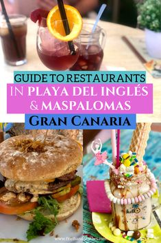 A guide to restaurants in Playa del Ingles and Maspalomas restaurants. If you are heading to Gran Canaria and are looking for a restaurant playa del ingles, read this! As Roma, Hamburger Bar, Gluten Free Beer, Europe Destinations, Travel Europe, European Travel, Restaurant Guide, Good Burger, Canario