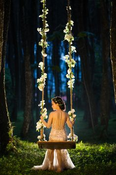 Where can we relocate the swing and add flowers? So romantic...