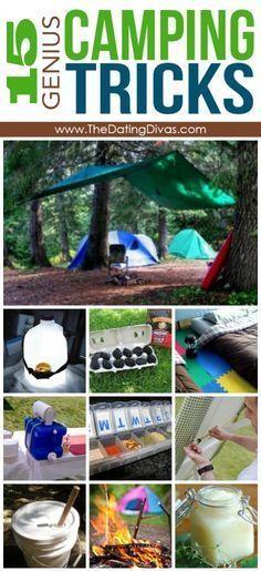 15 Genius Camping Tricks www.aaa.com/travel More