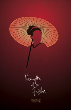 This movie poster for Memoirs of a Geisha was redesigned by Carlia Todmann (Full Sail Digital Arts and Design, 2013 graduate).