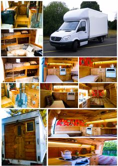 The Mercedes-Benz Sprinter Luton Style Camper Van is great for a large living space, the space above the cab is perfect for a double bed or for a large storage area.   These spaces allow for the modern day luxuries such as showers, full size cookers & large kitchens.  Conversions of this style start at £10k dependent on spec.  http://rusticampers.wix.com/rustic-campers#!gallery/c1ybj