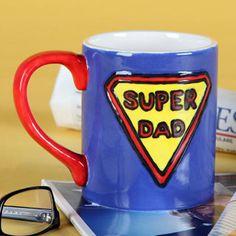DIY Coffee Mug for Dad | AllFreeHolidayCrafts.com