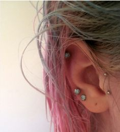 Tiny And Surprising Ear Piercings To Try In 2016: We have always felt that when it comes to the landscape of woman or girl's looks, one of the most undervalued features is the ears. The fact is that many a