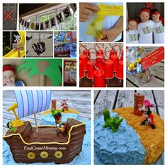 This is the cutest #PirateParty on the web. Check out the website for all the adorable DIY projects and details.