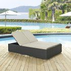 Modway Sojourn Wicker Outdoor Double Chaise Lounge