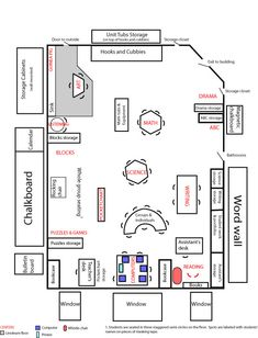 Kindergarten classroom layout I wish my classroom was this big! One day... :)