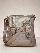 messenger bag in old gold @ Boden
