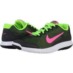 Nike Flex Experience RN 4 (Black/Electric Green/White/Pink Blast)