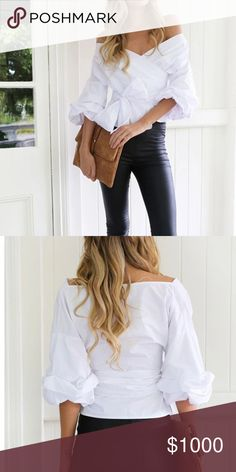 This is great a chance ! Please, contact @slaviol if you want this beautiful blouse! Tops Blouses