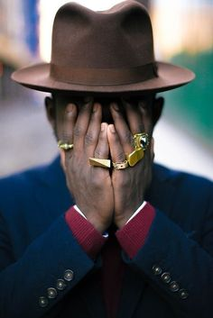 Hide and Chic File under: Fedoras, Blazers, Jewelry, Accessories