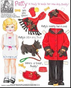 (⑅ ॣ•͈ᴗ•͈ ॣ)♡                                                             ✄Paper Doll patty