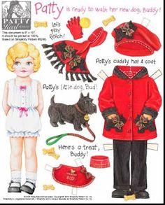 (⑅ ॣ•͈ᴗ•͈ ॣ)♡                                                             ✄Paper Doll patty