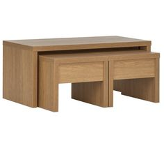 Buy Collection Coffee Table Set With 2 Side Tables At Argoscouk